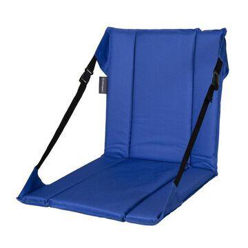 Stansport Stansport Folding Stadium Seat- Blue Polyester