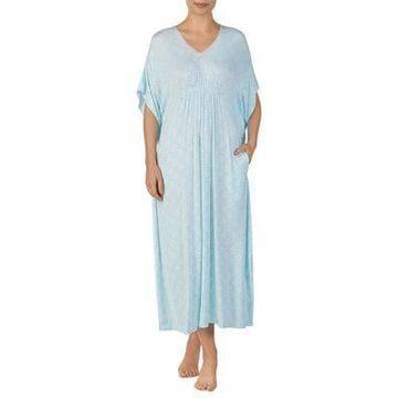 Printed Longo Caftan Dress