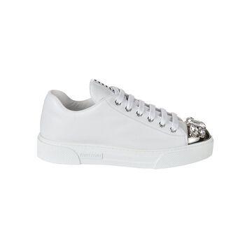 Miu Miu Crystal Embellished Sneakers