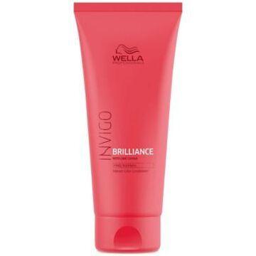 Wella Invigo Brilliance Vibrant Color Conditioner For Fine To Normal Hair, 8.4-oz, from Purebeauty Salon & Spa