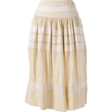 Rochas Ecru Silk Skirts