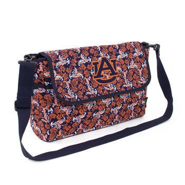 Auburn Tigers Women's Bloom Messenger Bag