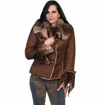 Scully Honey Creek Women's Soft and Luxurious Faux-Fur Jacket, 8010-JVA-XXL
