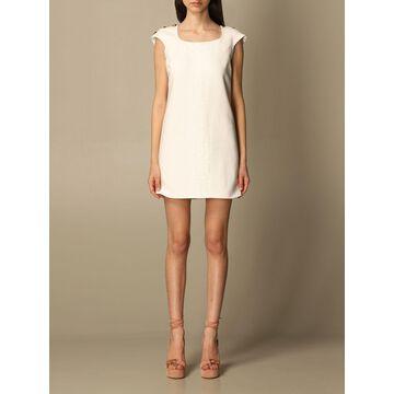 Elisabetta Franchi mini dress with lace details