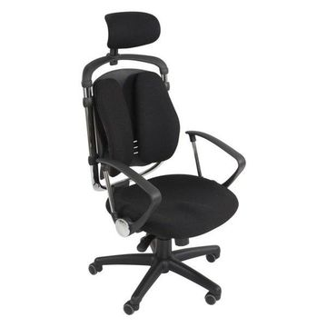 Balt Spine Align Executive Chair, Black, Foam, Fabric Seat, Foam Back