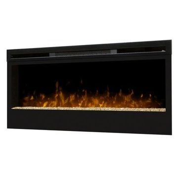Synergy Wall-mount Electric Fireplace - Black