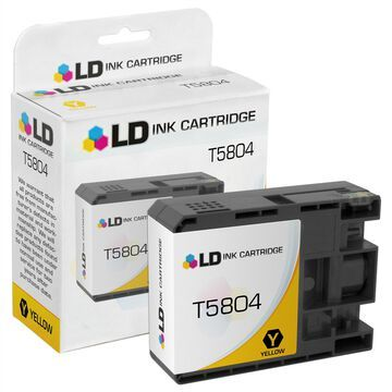 LD Remanufactured Replacement for Epson T580400 Yellow Ink Cartridge for use in Stylus Pro 3800 & 3880