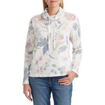 Chaps Women's Cotton Funnel Neck Pullover -