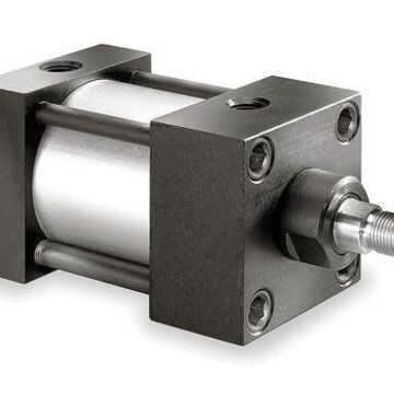 SPEEDAIRE 4MU24 1-1/2'' Bore Double Acting Air Cylinder 5'' Stroke