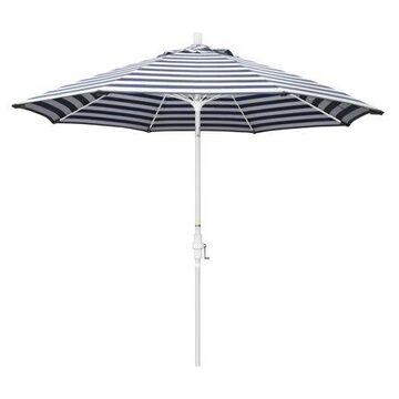 California Umbrella Sun Master Market Tilt Olefin Patio Umbrella, Multiple Colors