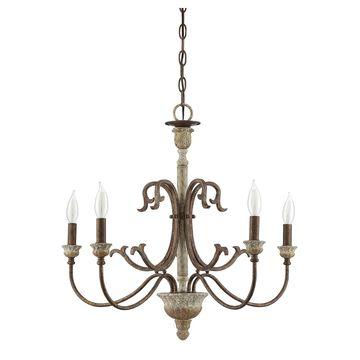 Savoy House Sabine 26 Inch 5 Light Chandelier Sabine - 1-9980-5-94 - Transitional