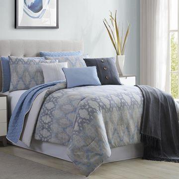 Amrapur Overseas Cloister 10-Piece Comforter and Coverlet Set