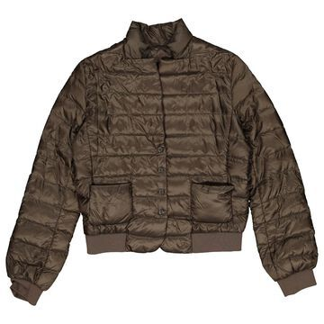 Moncler Khaki Synthetic Coats