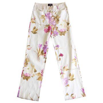 Etro Multicolour Cotton Trousers