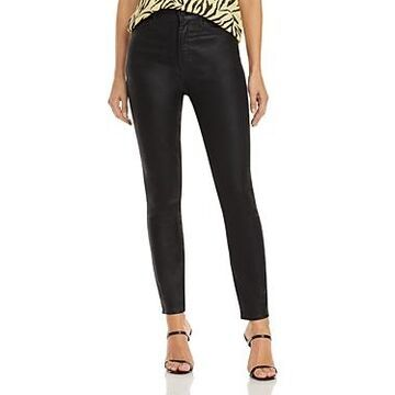Mother The Swooner Ankle Jeans in Black