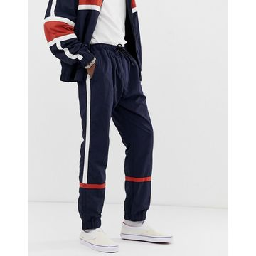 Weekday Benny Wind sweatpants in navy