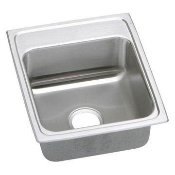 Elkay LRADQ1720650 Gourmet Stainless Steel Single Bowl Sink