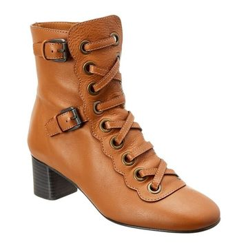 Chloe Orson Leather Bootie