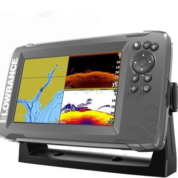 Lowrance Hook2 7 Fishfinder with US Inland Maps and Free Suncover