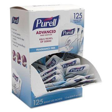 Gojo Purell Advanced Hand Sanitizer Single Use