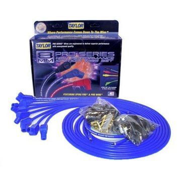 Taylor Wire / Vertex 73653 TAY73653 8MM SPIRO-PRO UNIV 8 CYL 135 BLUE
