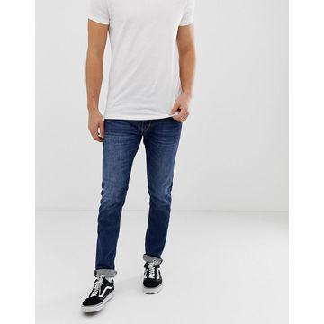 Replay Jondrill stretch skinny jeans in dark wash-Blue