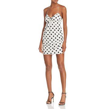For Love & Lemons Womens Ashland Printed Mini Tank Dress