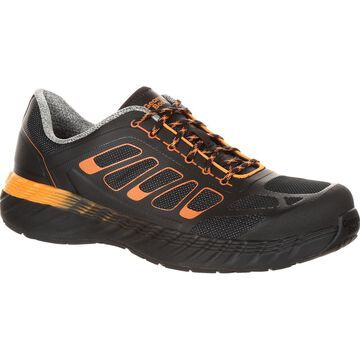 Georgia Boot Men's ReFLX Alloy Toe Athletic Work Shoe, #GB00219