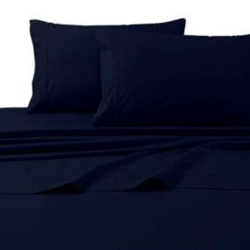 Tribeca Living 300 Thread Count Cotton Percale Extra Deep Pocket Full Sheet Set Bedding