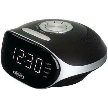 Jensen JCR-228 Digital Bluetooth Am/Fm Dual Alarm Clock Radio