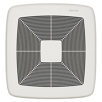 Broan Ultra Pro Series 0.3-Sone 80-CFM White Polymeric Bathroom Fan ENERGY STAR   RB80