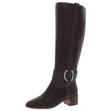 Corso Como Womens Liesbeth Knee-High Boots Leather Harness