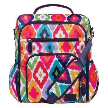 Trend Lab French Bull Kat Convertible Backpack Diaper Bag