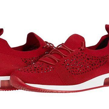 ara Lyssa (Red Woven Stretch) Women's Shoes