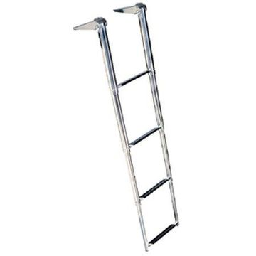 Seachoice Telescoping Ladder Only for Universal Swim Platform with Top Mount Ladder