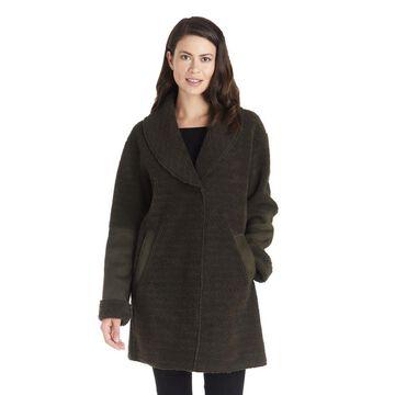 Kensie Women's Faux-Shearling Coat