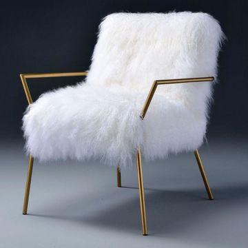 Benzara Wool Accent Chair