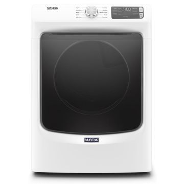 Maytag 7.3 Cu. Ft. White Gas Dryer