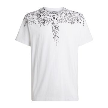 Marcelo Burlon County Of Milan Sketched Wings T-Shirt