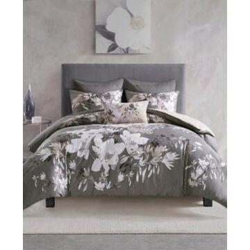 Natori Odessa 3 Piece Comforter Set - King/California King Bedding