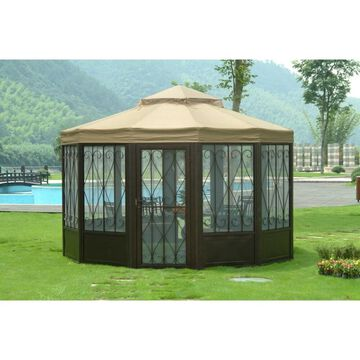 Sunjoy Replacement Canopy set (Deluxe) for L-GZ050PST-4 Sunhouse Gazebo