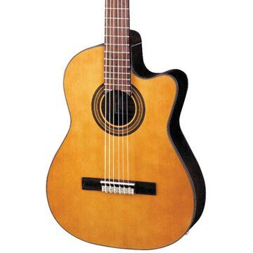 Blemished GA Series GA6CE Classical Cutaway Acoustic-Electric Guitar Natural 190839741653