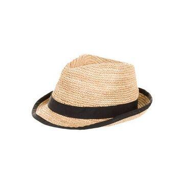 Woven Fedora Hat Tan