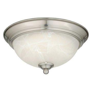 Vaxcel Lighting C0074 Builder 1 Light Flush Mount Indoor Ceiling Light