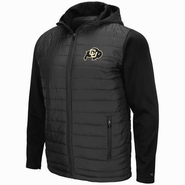 Mens NCAA Colorado Buffaloes Everest Full Zip Jacket