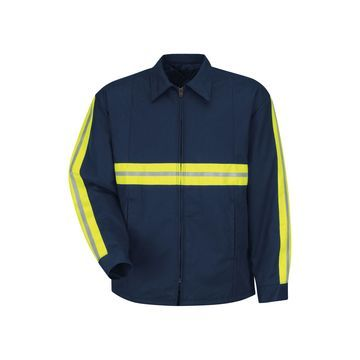 Red Kap Enhanced Visibility Jacket - Big & Tall