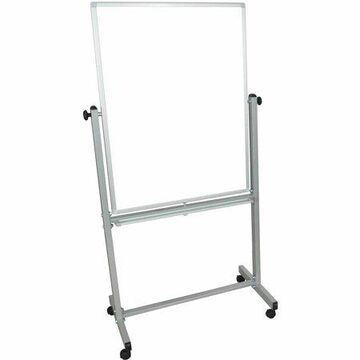 """Luxor 30"""" W x 40"""" H Double-Sided Magnetic Whiteboard"""