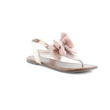 Material Girl Swan Women's Sandals Blush