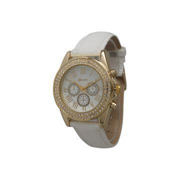 Olivia Pratt Unisex White Strap Watch-514032