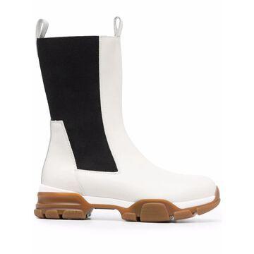 Erika Cavallini Semi-Couture Boots White